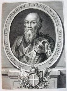 Raymond du Puy de Provence, portrait from circa (1725.)