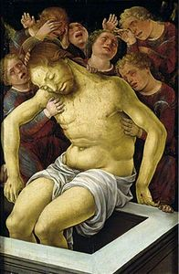 The Dead Christ Supported by Mourning Angels