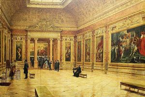 Rubens room at the Louvre