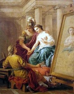 Apelles fell in love with the mistress of Alexander the Great