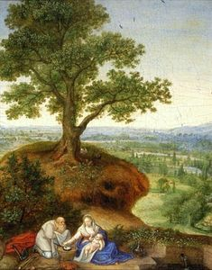 The Rest on The Flight into Egypt.