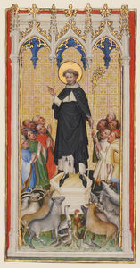 Anthony Abbot Blessing the Animals, the Poor, and the Sick