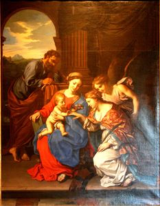 Mystic Marriage of St. Catherine.