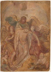 Il Cristo morto Sostenuto dagli Angeli