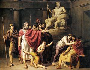Cleombrotus ordered into banishment by Leonidas II king of Sparta