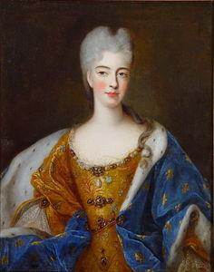 Portrait of Elizabeth Charlotte d'Orleans