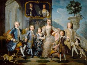 The Family of the Duke of Valentinois