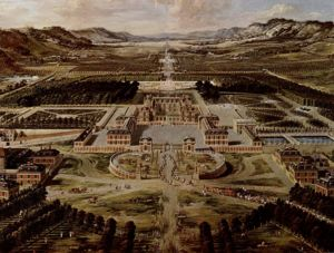The Palace of Versailles circa (1668)