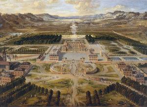 The Palace of Versailles circa (1668)