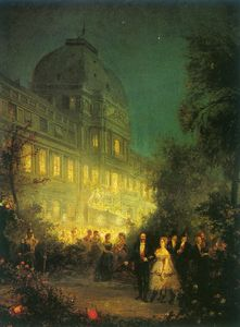 Party night at the Tuileries (Other versions)