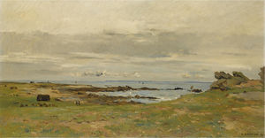 On the brittany coast