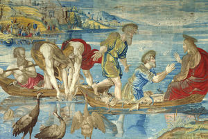 Tapestry of Raffaello, the miraculous catch