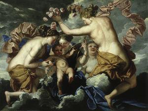 Venus, Cupid and the Three Graces