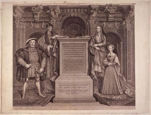 King Henry VIII, King Henry VII, Elizabeth of York, Jane Seymour