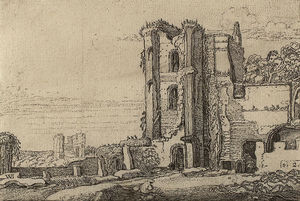 The Ruins of Brederode Castle near Haarlem