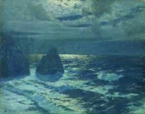 Moonlight, Cornish Coast