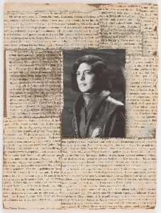 Untitled (book jacket photograph of Susan Sontag)