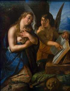 Magdalene and Angel