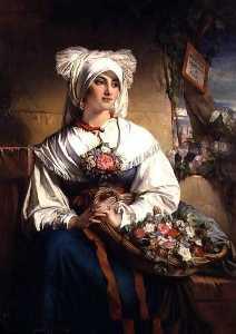 Flower Girl from Trieste