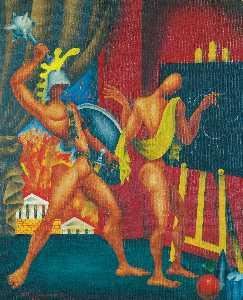 死亡 阿基米德  与  雪城  在  火焰