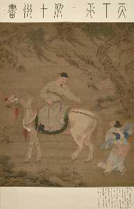 SCHOLAR RIDING A HORSE