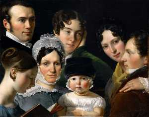 The Dubufe Family in 1820