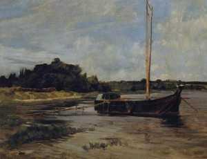 German Segelschiff auf der Havel