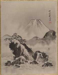 富士図 Mount Fuji