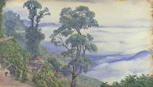 'Clouds from Darjeeling. Septr. 1878. India'
