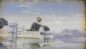 Jagniwas Palace, Udaipur. 'Janr. 1879'