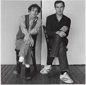 Philip Glass and Robert Wilson