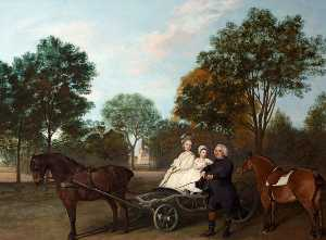 The Reverend Robert Carter Thelwall and His Family