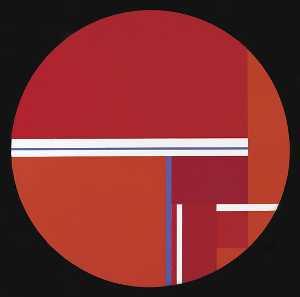 Tondo Variation in Red