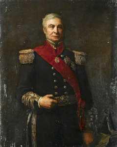 Amiral Monsieur Alexandre Milne ( 1808–1896 )