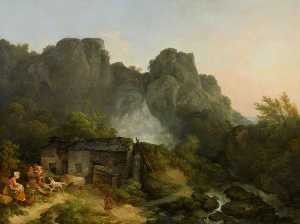 Lodore Waterfall, near Keswick