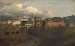 Vue de Saint Jean de Latran