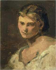 Figure de jeune femme