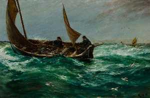 Fisherman on the Way Home
