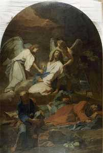 JESUS AU JARDIN DES OLIVIERS