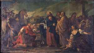 JESUS GUERIT LE FILS D'UN OFFICIER DE CAPHARNAUM