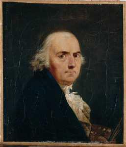 Ritratto de l'artiste autoportrait de françois sablet ( Titre attribué )