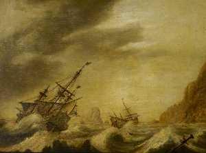 A Wijdschip Close Hauled in a Moderate Breeze