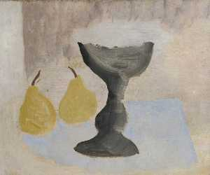 1924 (goblet and two pears)