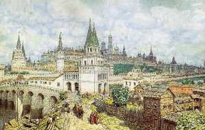 The Moscow Kremlin in the late XVII Century