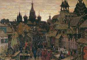 Moscow Street, Early XVII Century