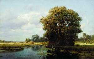 Landscape with a Swamp
