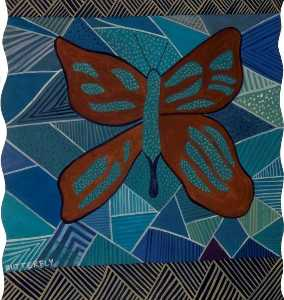 'Dreams of Australia' Series, Butterfly