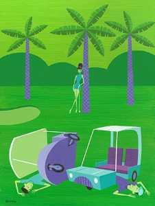 golf course grief