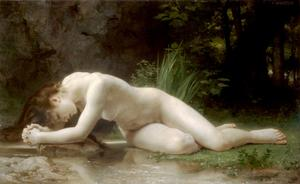 William Adolphe Bouguereau - Biblis - (Famous paintings reproduction)