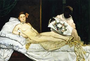 Edouard Manet - Olympia - (Famous paintings)